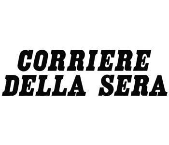 Logo del quotidiano Corriere della Sera sul sito del FIADEL