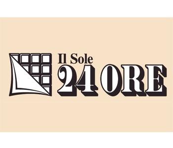 Logo del quotidiano Il Sole 24 Ore sul sito del FIADEL