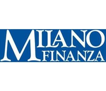 Logo del quotidiano Milano Finanza sul sito del FIADEL
