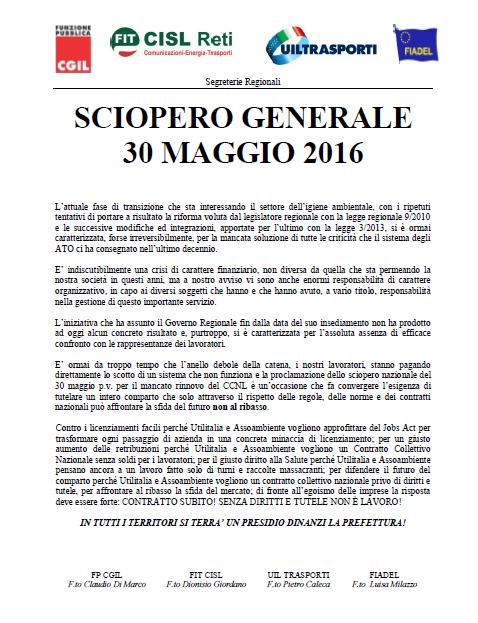 Volantino Presidio 30 maggio 2016 Sicilia