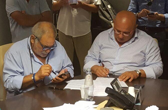 30 firma del CCNL 2016-2018