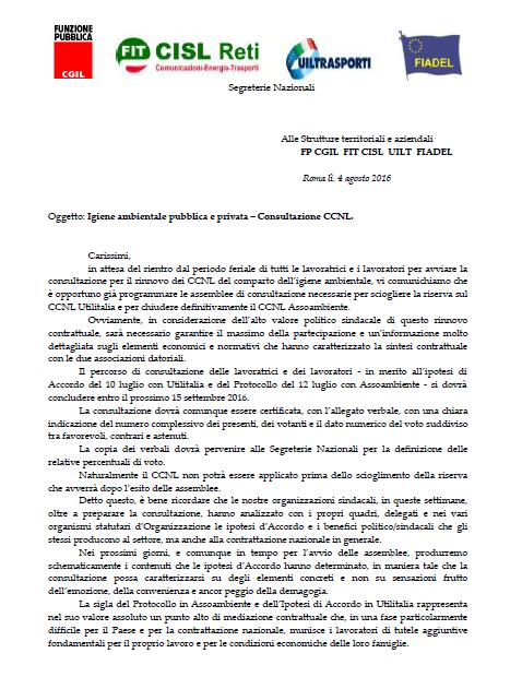 35 Comunicato_Segreterie_Nazionali_4_agosto_2016