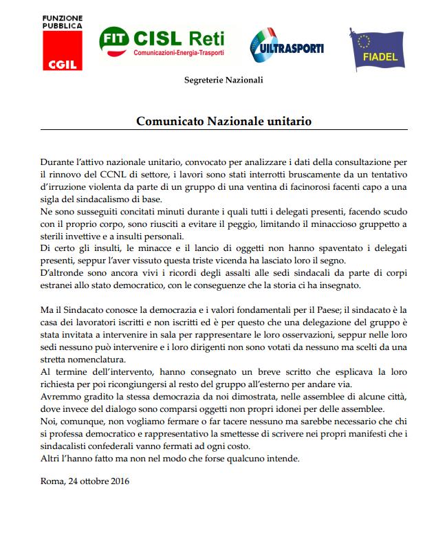 comunicato-nazionale-unitario-24-ottobre-2016