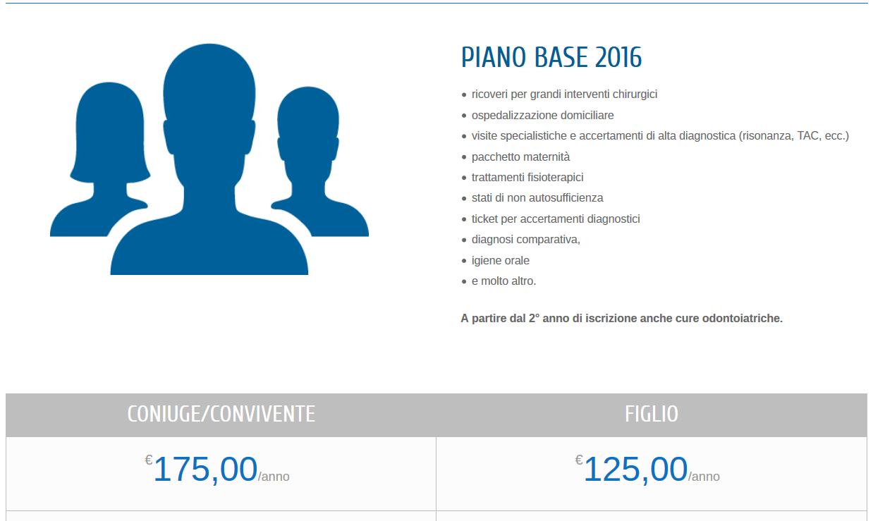 Familiari Dipendenti Per E FasdaIl I Sanitario Nuovo Piano HYDEIW29